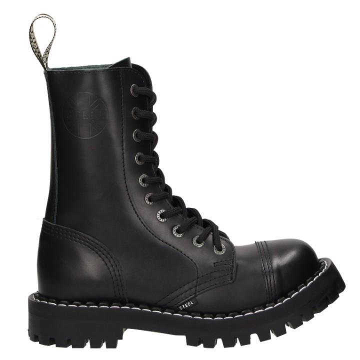 Ботинки Steel 105-106 O-BLK (10 колец)