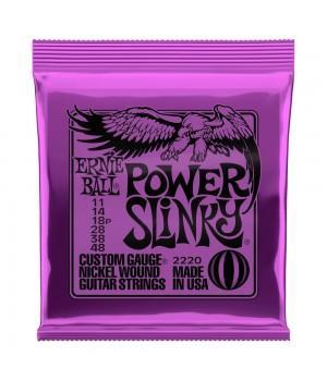 Струны для электрогитары Ernie Ball 2220 Power Slinky 11-48
