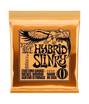 Струны для электрогитары Ernie Ball 2222 Hybrid Slinky 9-46