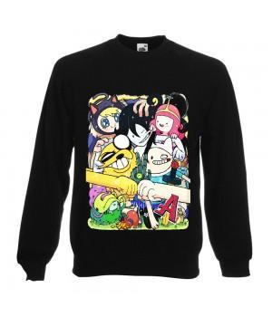 "Свитшот ""Adventure Time (Время приключений)"""