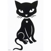 """Переводные тату """"Кошка"""""""
