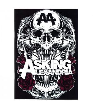 "Тетрадь ""Asking Alexandria"""