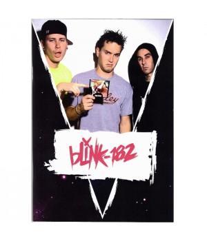"""Тетрадь """"Blink 182"""""""