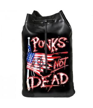 "Торба ""Punk's Not Dead"" кожзам"