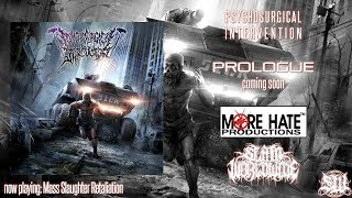 PSYCHOSURGICAL INTERVENTION - MASS SLAUGHTER RETALIATION [SINGLE] (2019) SW EXCLUSIVE