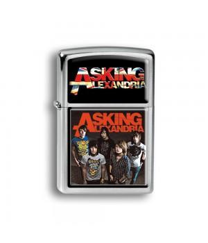 """Зажигалка """"Asking Alexandria"""""""