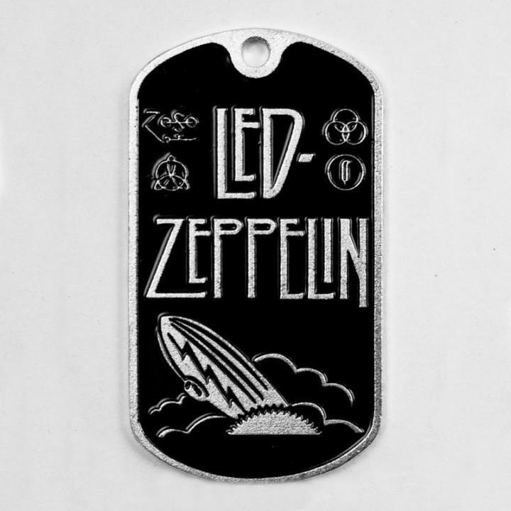 """Жетон """"Led Zeppelin"""" (1837)"""