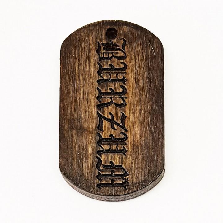 "Жетон ""Burzum"" (15183)"