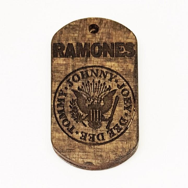 "Жетон ""Ramones"" (15190)"