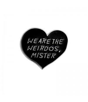 "Значок-пин ""We Are The Weirdos, Mister"""