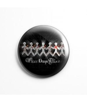 "Значок ""Three Days Grace"" 3,7 см"