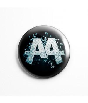 "Значок ""Asking Alexandria"" 3,7 см"
