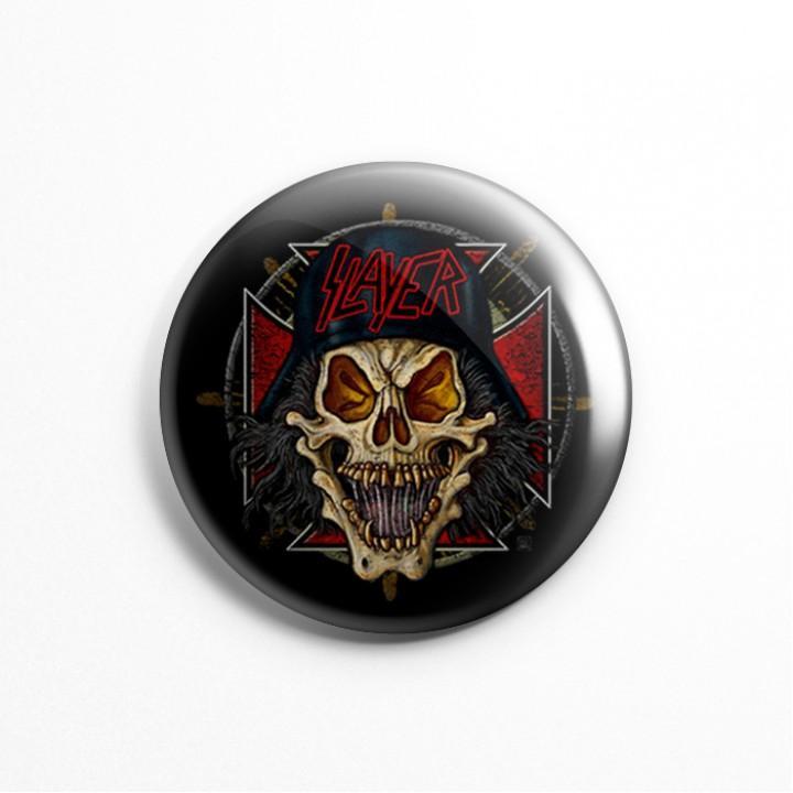 """Значок """"Slayer"""" 3,7 см (13591)"""