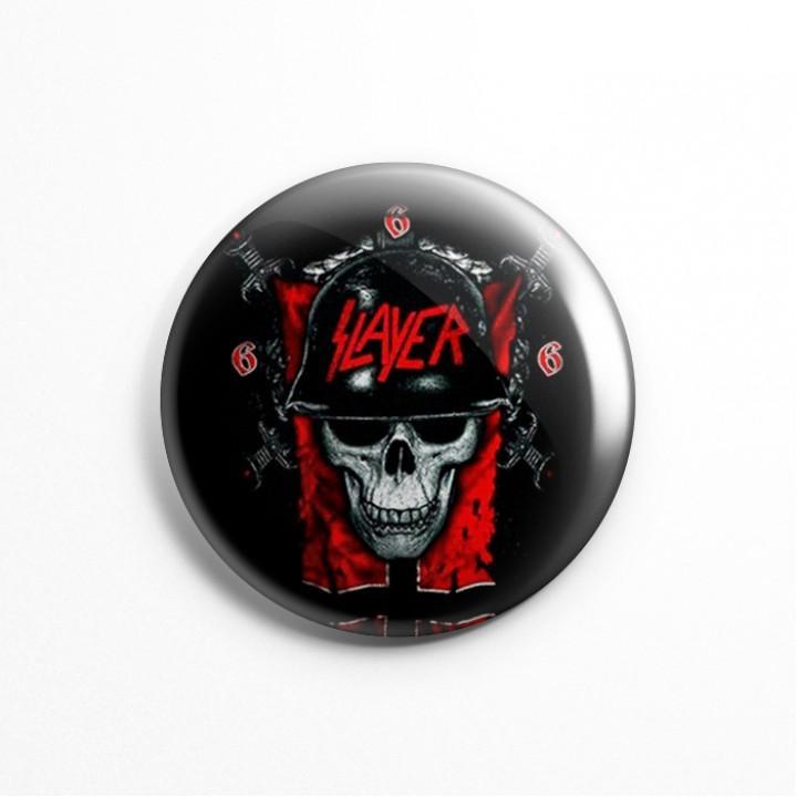 """Значок """"Slayer"""" 3,7 см (13592)"""