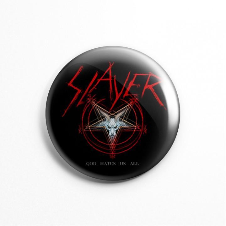 """Значок """"Slayer"""" 3,7 см (13593)"""
