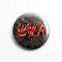 """Значок """"Slayer"""" 3,7 см"""