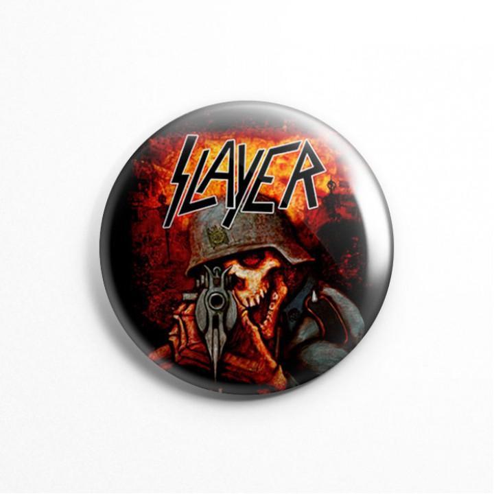 """Значок """"Slayer"""" 3,7 см (13597)"""
