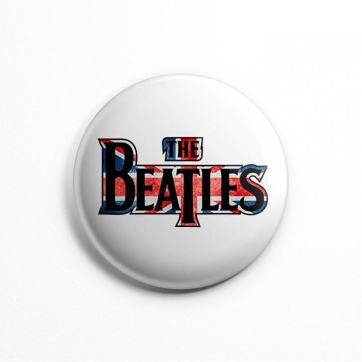"""Значок """"The Beatles"""" 3,7 см (13602)"""