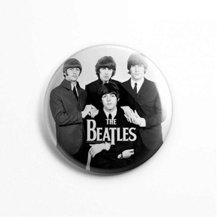 """Значок """"The Beatles"""" 3,7 см (13604)"""