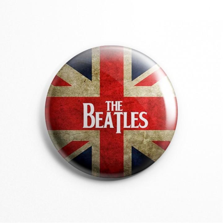 """Значок """"The Beatles"""" 3,7 см (13608)"""