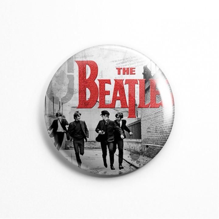 """Значок """"The Beatles"""" 3,7 см (13610)"""