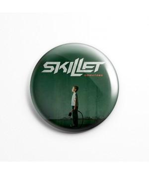 """Значок """"Skillet"""" 3,7 см"""