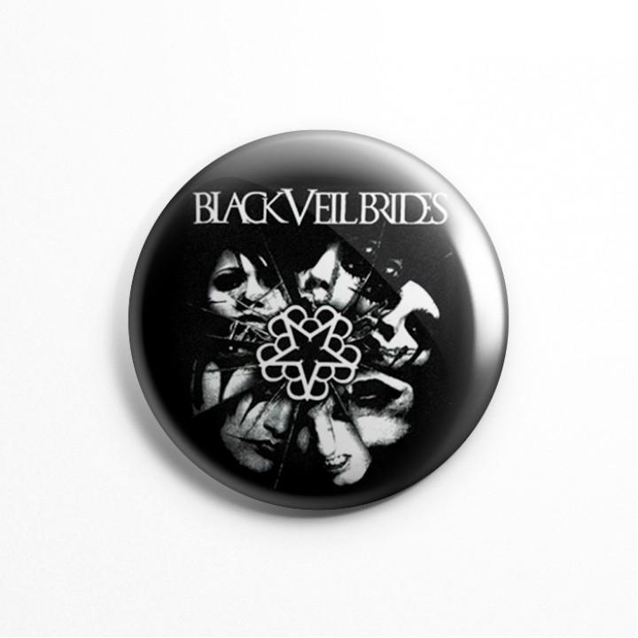 "Значок ""Black Veil Brides"" 3,7 см (13629)"