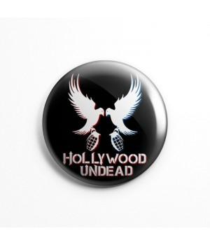 "Магнит ""Hollywood Undead"" 3,7 см"