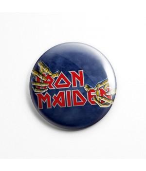 "Магнит ""Iron Maiden"" 3,7 см"