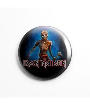 """Значок """"Iron Maiden"""" 3,7 см"""