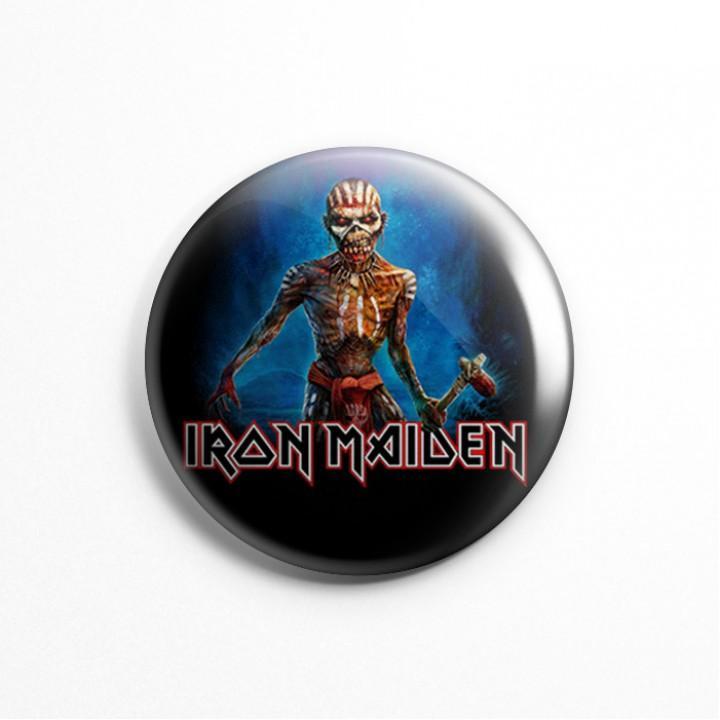 "Магнит ""Iron Maiden"" 3,7 см (9502)"