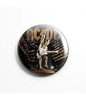 """Магнит """"AC/DC"""" 3,7 см"""