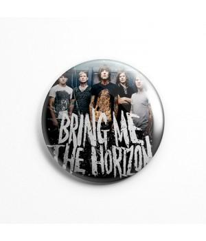"Магнит ""Bring Me The Horizon"" 3,7 см"