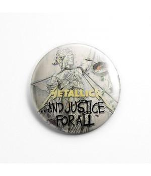 """Значок """"Metallica"""" 3,7 см"""