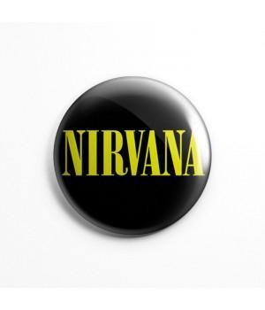 """Значок """"Nirvana"""" 3,7 см"""