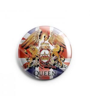 "Значок ""Queen"" 3,7 см"