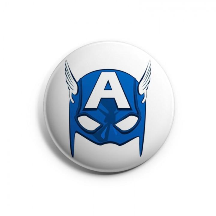 """Значок """"Captain America (Капитан Америка)"""" (6806)"""