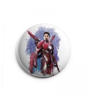 """Значок """"Iron Man (Железный человек)"""""""