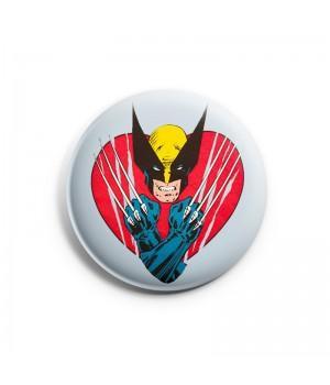 """Значок """"Wolverine (Росомаха)"""""""