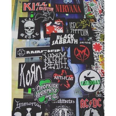 К нам приехали новые нашивки!#rockbastion #нашивки #рок #метал #rock #metal