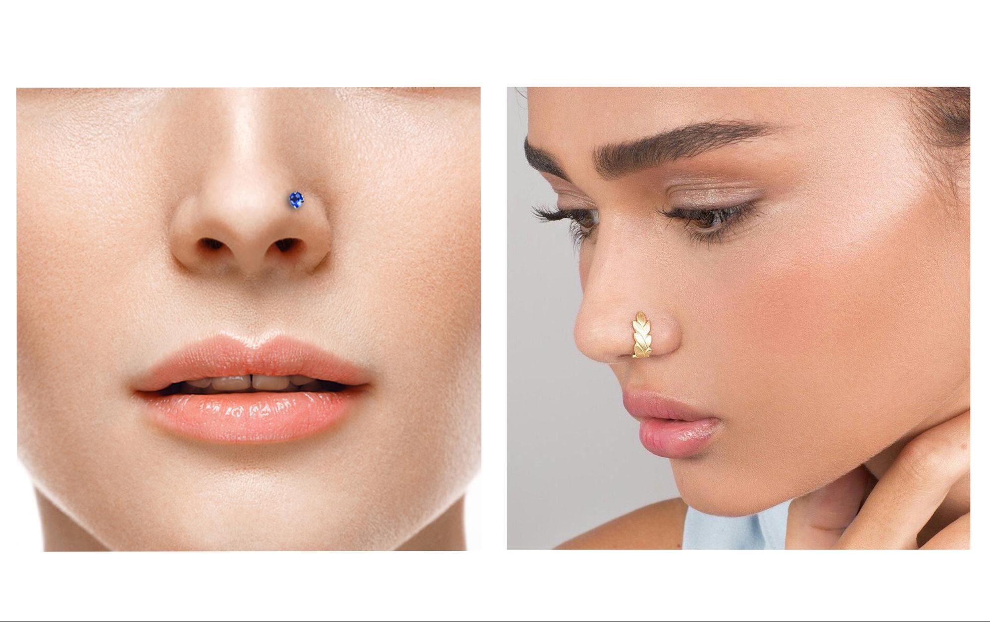 пирсинг носа 2