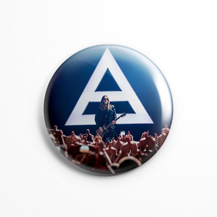 "Значок ""30 Seconds To Mars"" 3,7 см"