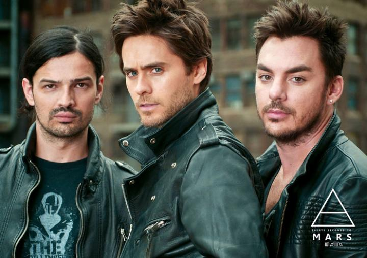 "Постер ""30 Seconds To Mars"""