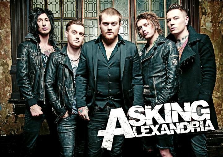 "Постер ""Asking Alexandria"""