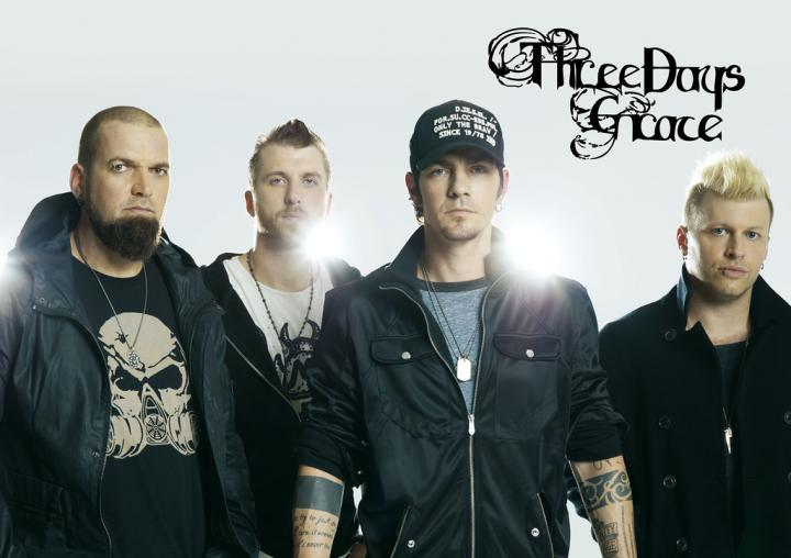 "Постер ""Three Days Grace"""